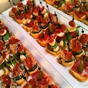 Koude borrelhapjes pincho vegetarisch catering Amsterdam mix