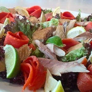 Lunchbuffetten Catering Amsterdam gerookte vis