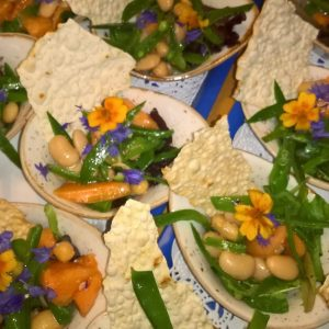 Walking Dinner Catering Amsterdam zomer salade