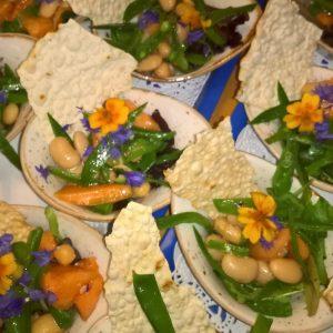 Walking Dinner Catering Amsterdam zomer salade