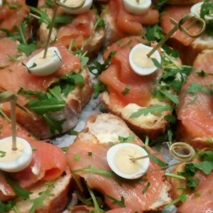 High tea catering Amsterdam sandwiches zalm 2