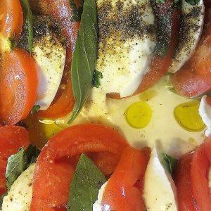 Italiaans zomerbuffet caprese cateraar Amsterdam
