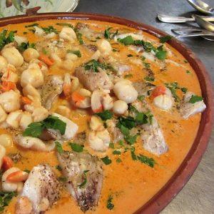 Mediterraan buffet Catering Amsterdam vispannetje