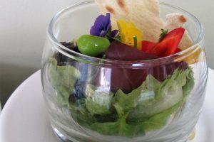 Walking Dinner Catering Amsterdam salade